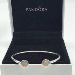 Pandora Signature Bangle Bracelet